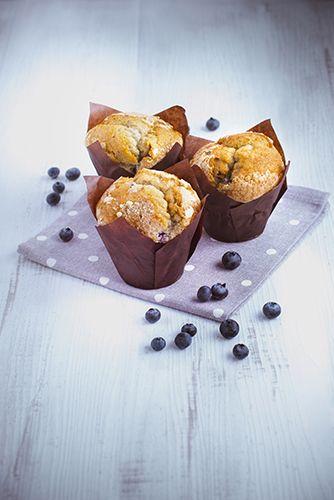 De délicieux muffins aux myrtilles.  Réalisé avec le robot Masterchef Gourmet de Moulinex.  #MarielysLorthios #Photographe #Muffins