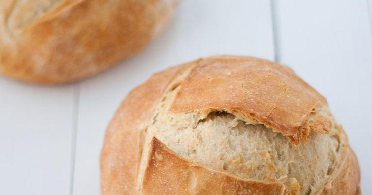 Tengo un horno y sé cómo usarlo | Recetas & fotos | Cocina paso a paso| Food | Spanish | Recipes: Pan de hogaza rápido