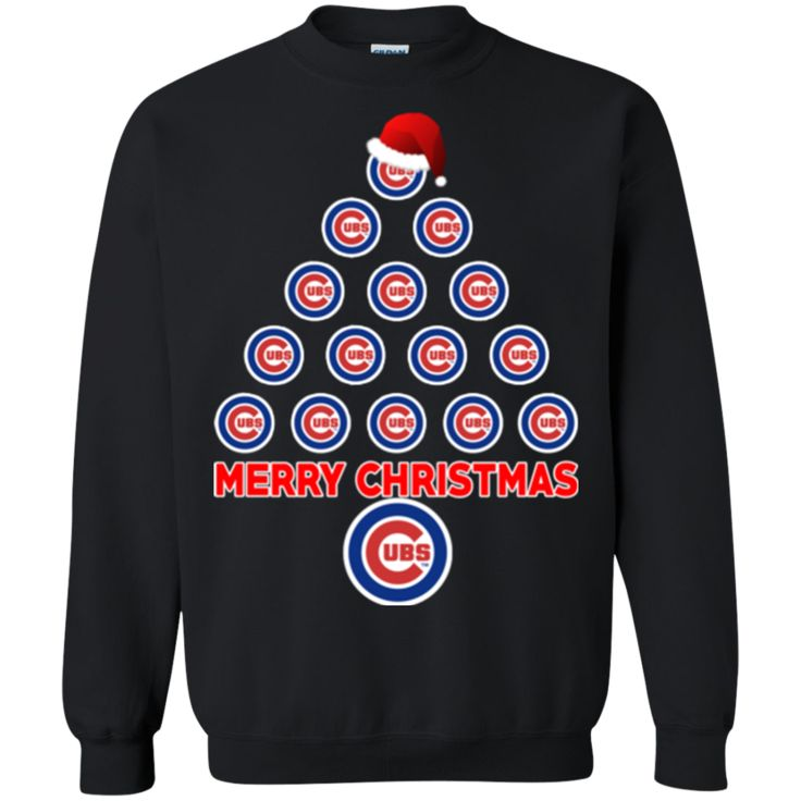 Chicago Cubs Ugly Christmas Sweaters Merry Christmas Hoodies Sweashirts
