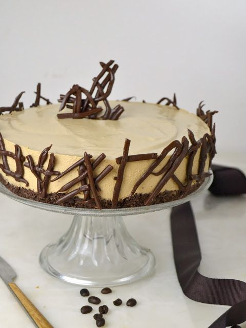 Tarta fría de mousse de café. deliciosa y ¡Sin horno! | Cuuking! Recetas de cocina