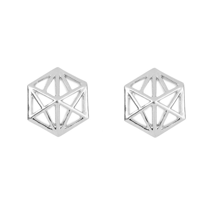 """Darwin earrings - available in gold and silver. Get 25% off these earrings with code """"foxypin"""" www.foxyoriginals... Tags: silver jewelry, imaginary voyage, silver, earrings"""