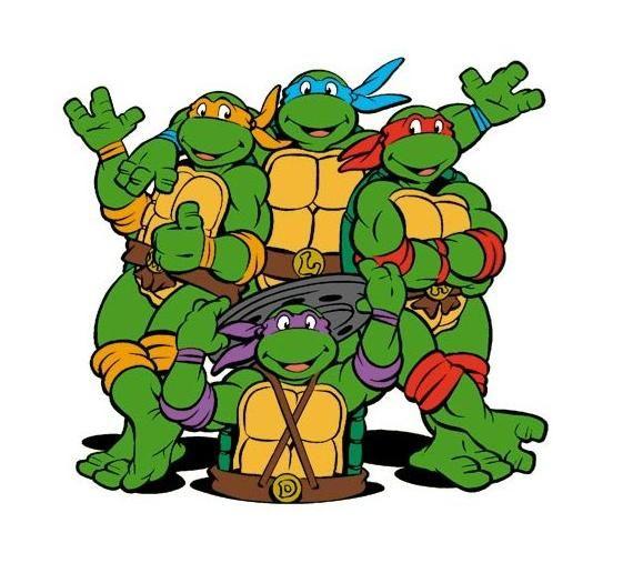 Pin en cumple tortugas ninjas
