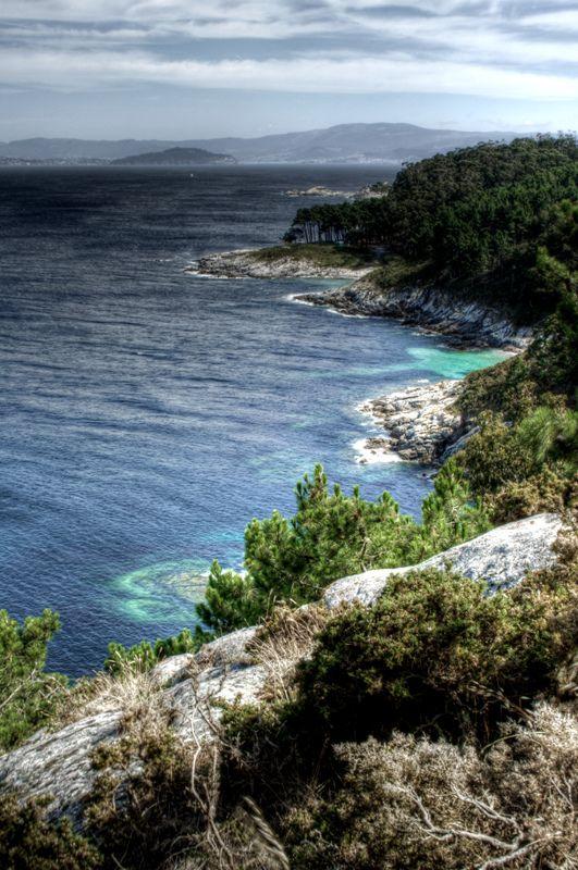 Cíes islands coast. Galicia. Costa de las islas Cíes | Spain  España.