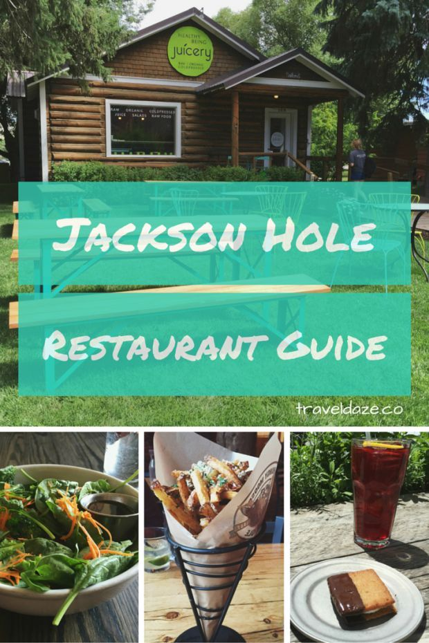 Jackson Hole Restaurant Guide // The best restaurants & cafes in the Jackson Hole area. All are vegetarian-friendly