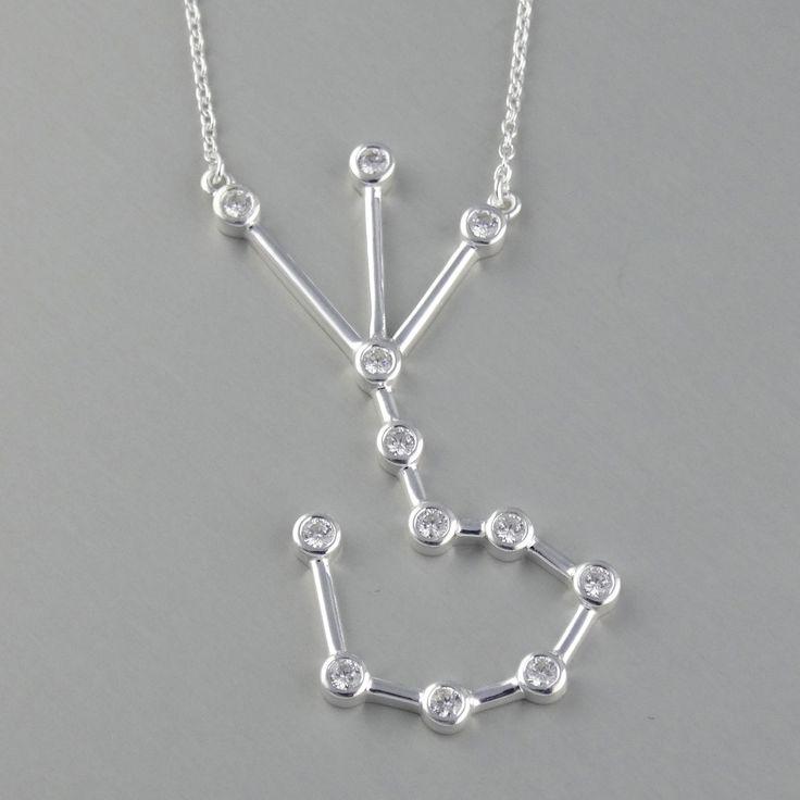 FashionJunkie4Life - Scorpio Constellation Necklace - Sterling Silver, Horoscope Zodiac, $34.99 (http://www.fashionjunkie4life.com/scorpio-constellation-necklace-sterling-silver-horoscope-zodiac/)