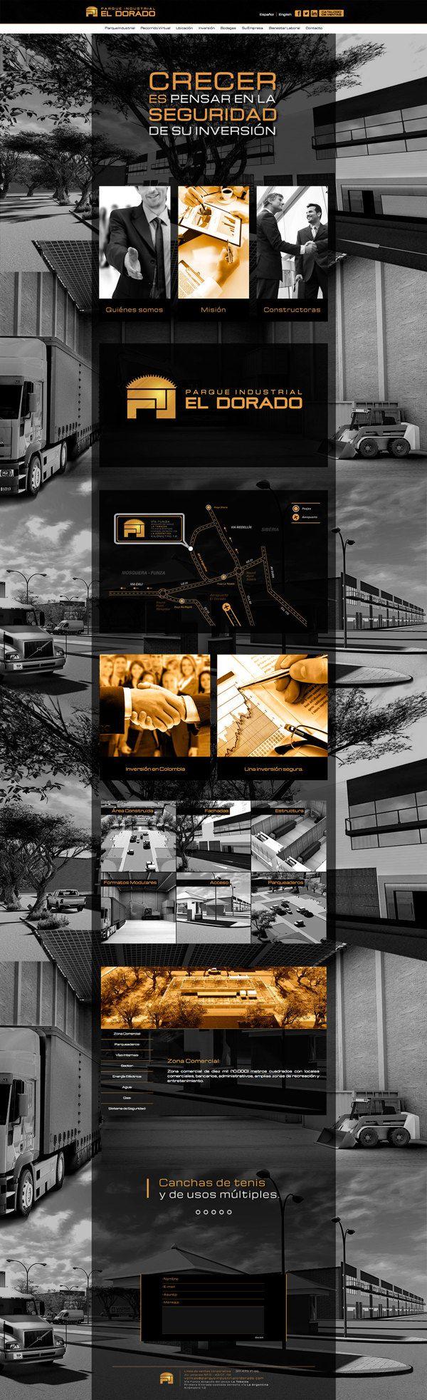 Parque Industrial El Dorado on Behance