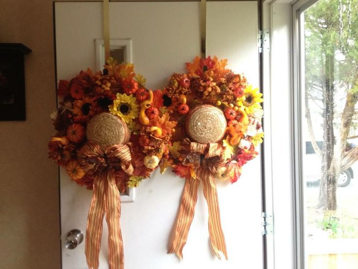 Fall Wreaths made from Straw Hats | Crafty Corner | Fall ...