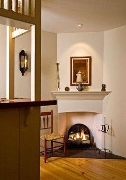 comfy living room d cor ideas with a corner fireplace 44 rh pinterest com
