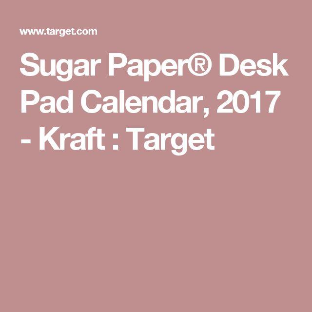 1000 Ideas About Desk Pad Calendar On Pinterest Work