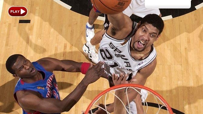 2005 NBA Finals: Pistons vs Spurs