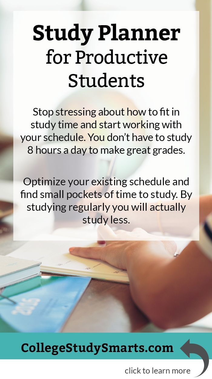 study planner for productive students stop stressing about how to