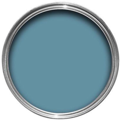 Dulux Kitchen Plus Matt Emulsion Stonewashed Blue 2.5L, 5010212576021