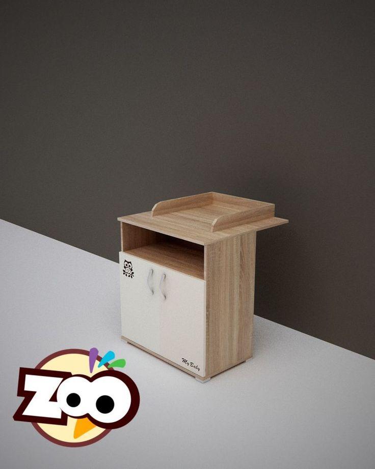 Todi Zoo 2 ajtós  pelenkázószekrény