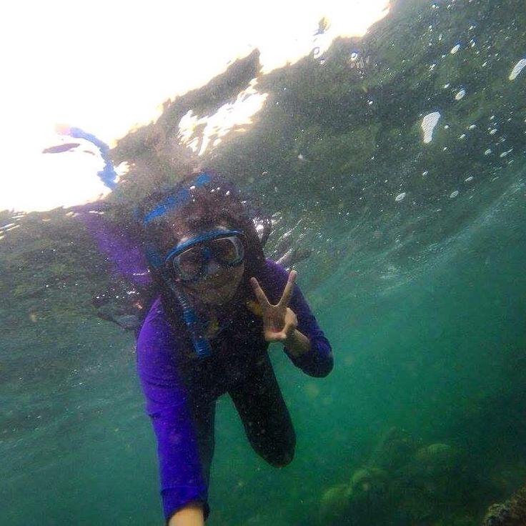 Underwater - Pantai Sadranan - Gunungkidul -Yogyakarta - Indonesia
