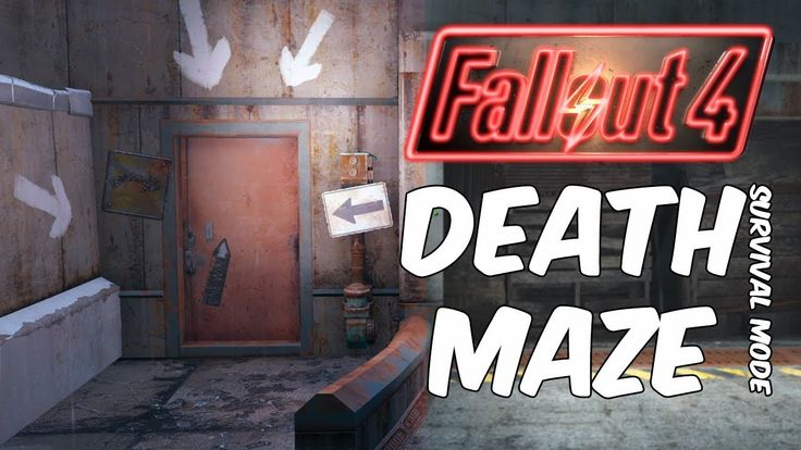 Fallout 4 Survival | Milton Parking Garage Death Maze Walkthrough Guide