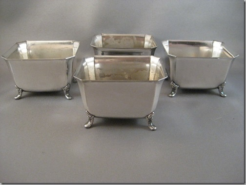 stainless claw tub