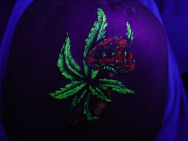 Marijuana tattoo weed leaf marijuana leaf tattoos pot 2 for Tattoo of weed leaf