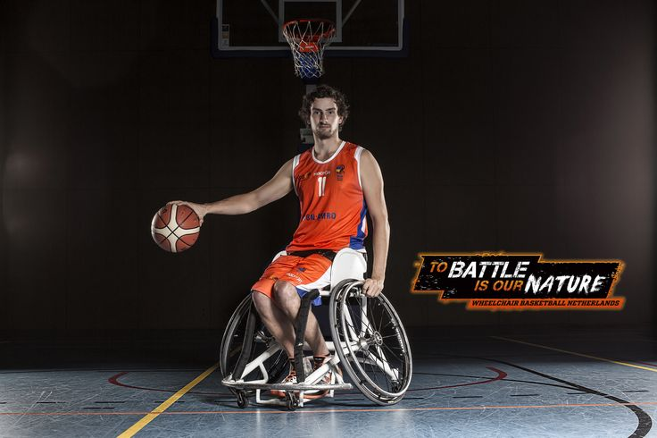 Mattijs Bellers is eager to learn - Wheelchair Basketball Netherlands 'To battle is our nature' Rolstoelbasketbal