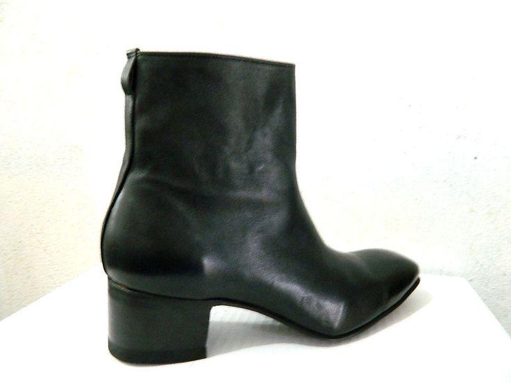 ankle boots jony style size 11 genuine grain