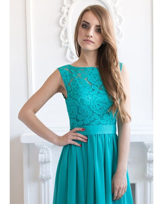 1000  ideas about Turquoise Lace Dresses on Pinterest - Turquoise ...