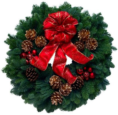 Fresh Holiday Wreath from Christmas Forest Giveaway! exp 11/29  Arrives at your home just in time for the holiday's!
