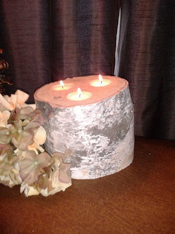 Birch Candle Holer -Discount for Large Orders-