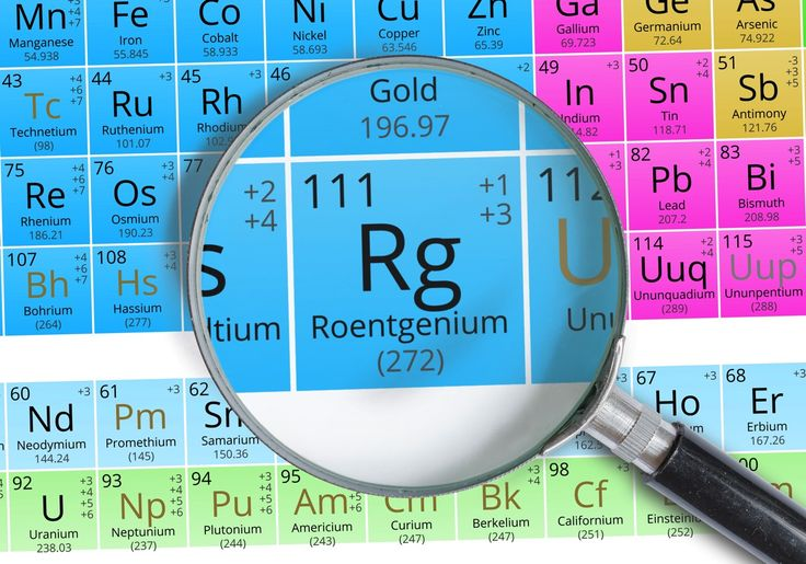 8 December 1994 -  The 111th chemical element, named Roentgenium after physicist Wilhelm Röntgen, is created by a group of scientists in Darmstadt, Germany. The element was synthesised by bombarding an isotope of bismuth with the nuclei of a nickel isotope. From this reaction only one atom of roentgenium was detected, however the synthesis was considered a success. #HistSci  © vchal/Getty Images