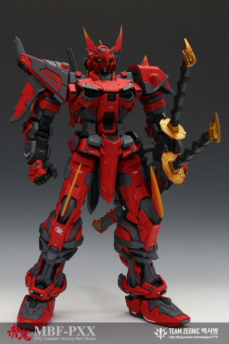 GUNDAM GUY: PG 1/60 Gundam Astray Red Ghost - Custom Build
