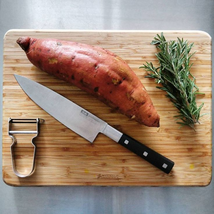 Getting ready for ➡ Sweet potato | Rosemary | Olive oil flavor