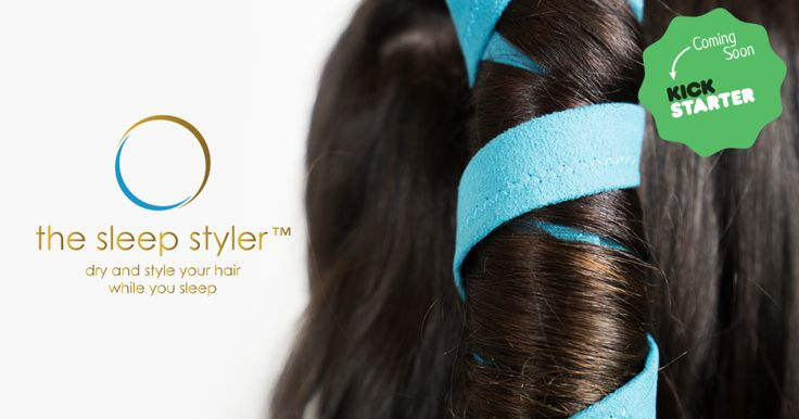 The smartest new hair styling tool is coming to Kickstarter! Win a Sleep Styler for FREE.