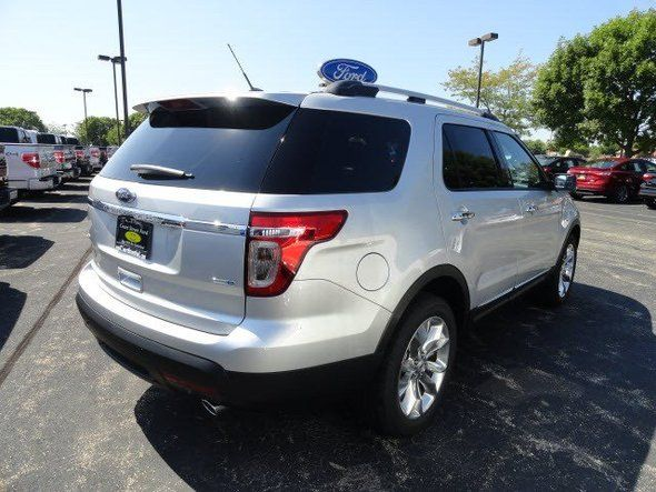 New 2014 Ford Explorer XLT (Silver Sport Utility) Near Bourbonnais, IL