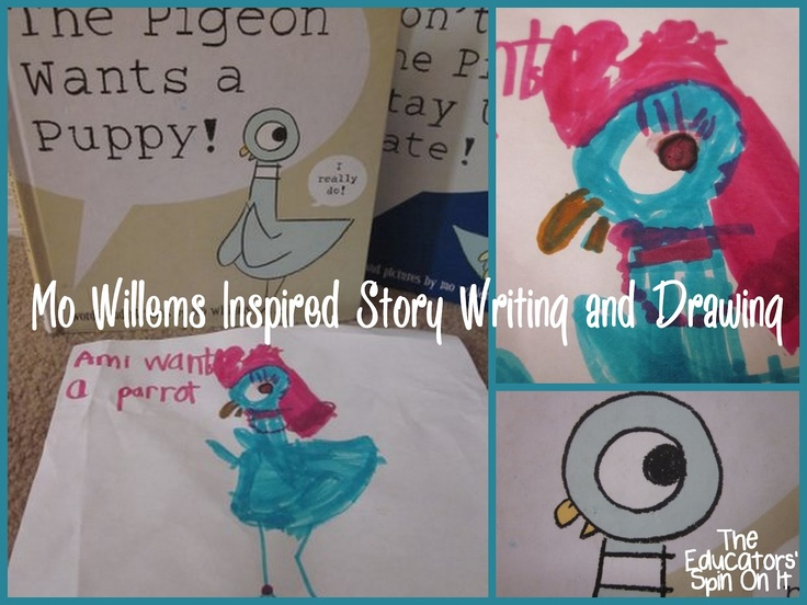 The Educators' Spin On It: Learning to Draw with Mo Willems: Virtual Summer Book Club BONUS: Video Clips of Mo Willems for Author Study and inspiration!