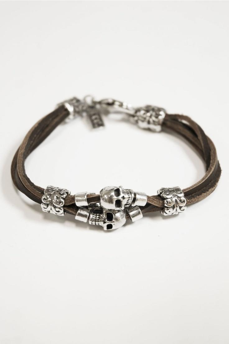 Mens Bracelet P145/M by XXL Hardwear - find that bracelet and other accessories @ www.BootsJeansandLeathers.com