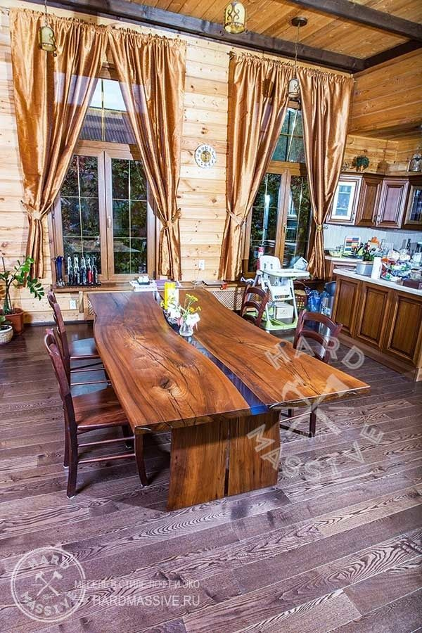 Dining table Dolgov. A large table of solid wood Elm and polymer-filled blue. A table with a live edge. Table slab of wood with a beautiful texture | Обеденный стол Dolgov. Большой стол из массива дерева карагач и полимерной заливкой синего цвета. Стол с живым краем. Стол из слэба дерева с красивой текстурой. #hardmassive  #tablewood #tablewooddesign #tablewoodnatural    #tablewooddesign #tablewoodnatural #tablewoodfurniture #tablewoodslab #tableliveedge #dinnertablewood #tableriver