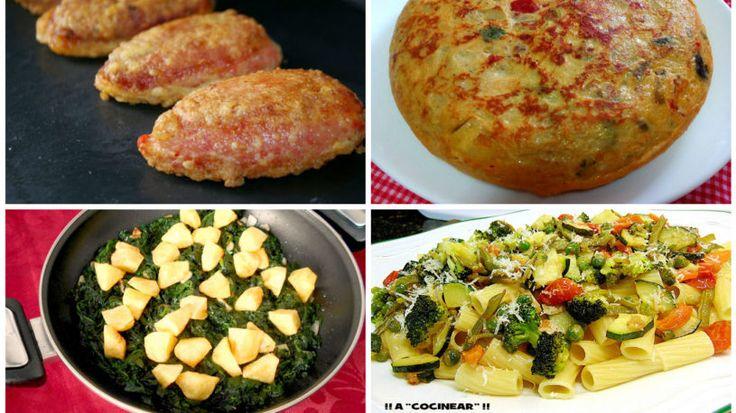 Recetas fáciles de verduras y hortalizas (parte 2)