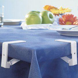 Klemmen voor tafelkleed op zijn plek te houden. Ook te gebruiken met quilten en machine borduren