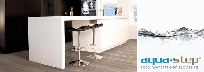Aqua-Step is the first 100% water resistant laminate floor. To browse the Aquastep range, please click on the link below. http://creativeflooring.co.uk/aqua-step-landing