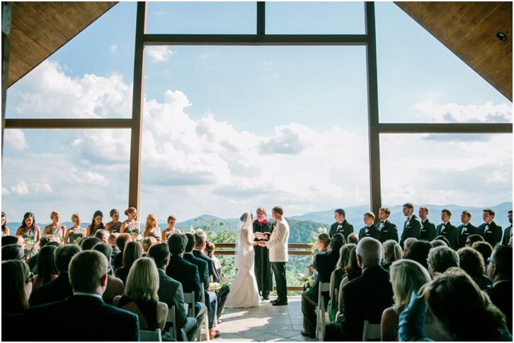 North Georgia Outdoor Wedding Ceremony