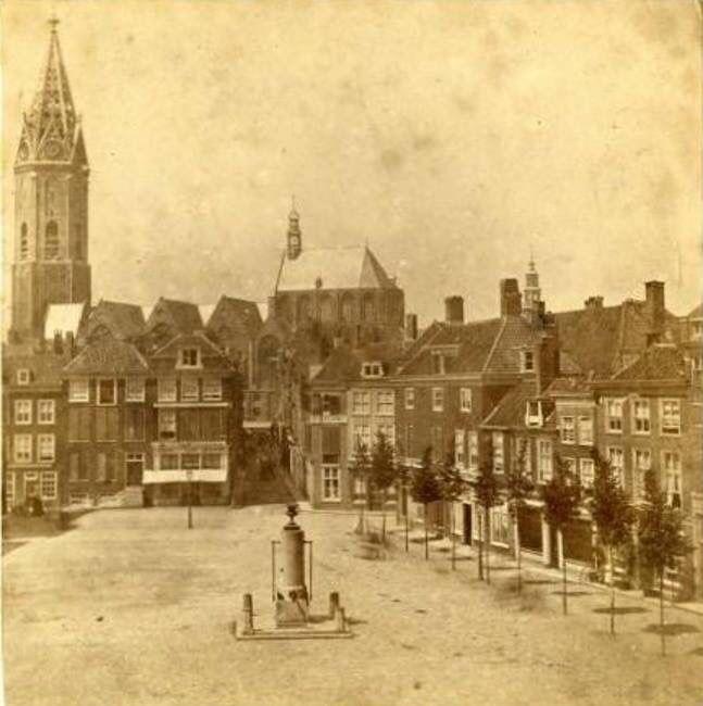Misschien wel de vroegste foto van de Grote Markt. 1866!!