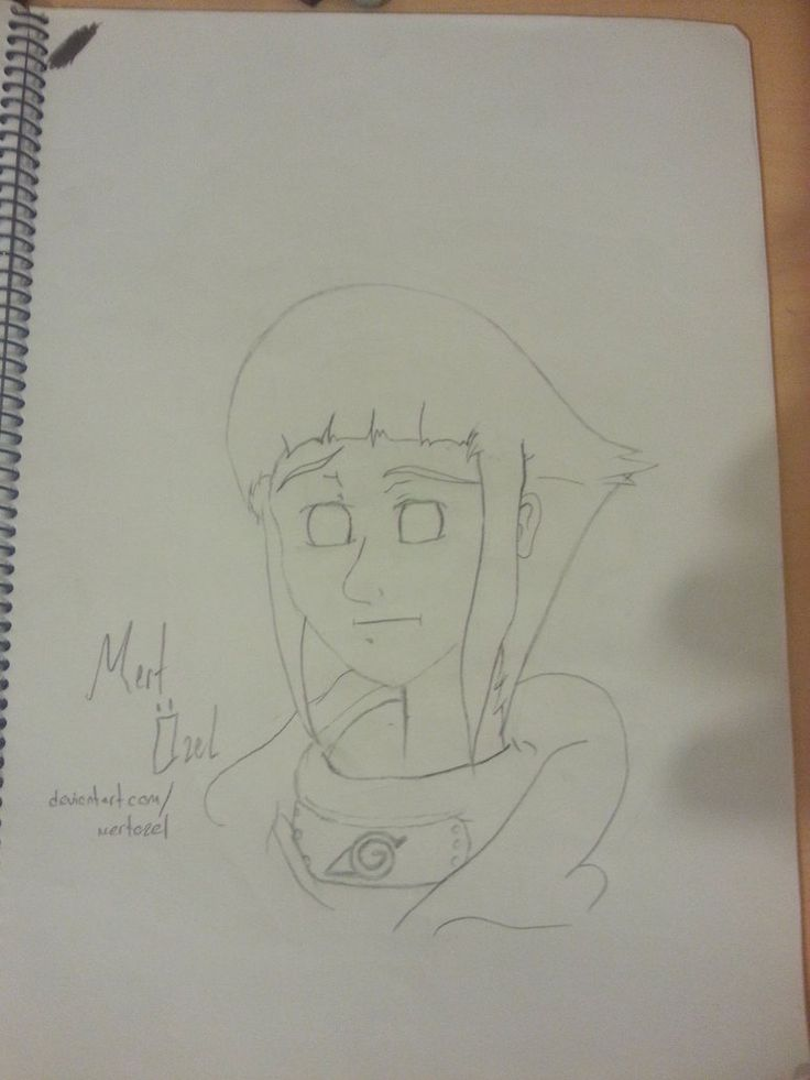 That's my first Hinata (Naruto Shippuden) painting.. I hope you like this.    Please check out the rest of my gallery: http://mertozel.deviantart.com/gallery/