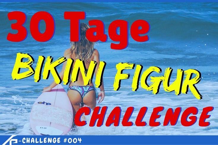 WOW! Mit diesem Trainingsplan in nur 30 Tagen zur idealen Bikini Figur ❤ Abnehmen für den Sommer ✓ Mit nur 4 Übungen ✓