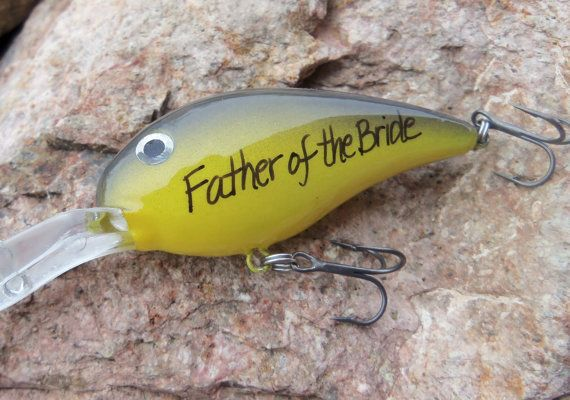 Dad Wedding Gift for Father of the Bride Gifts by CandTCustomLures