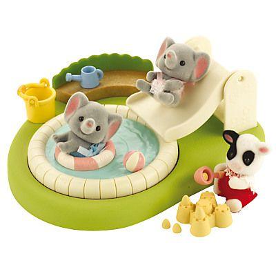 Sylvanian Families Baby Paddling Pool & Sandpit Set