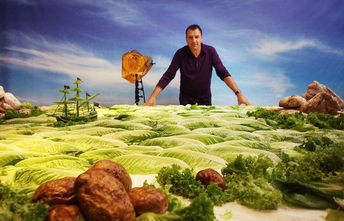 음식으로 만든 풍경 (FOOD ART by Carl Warner)
