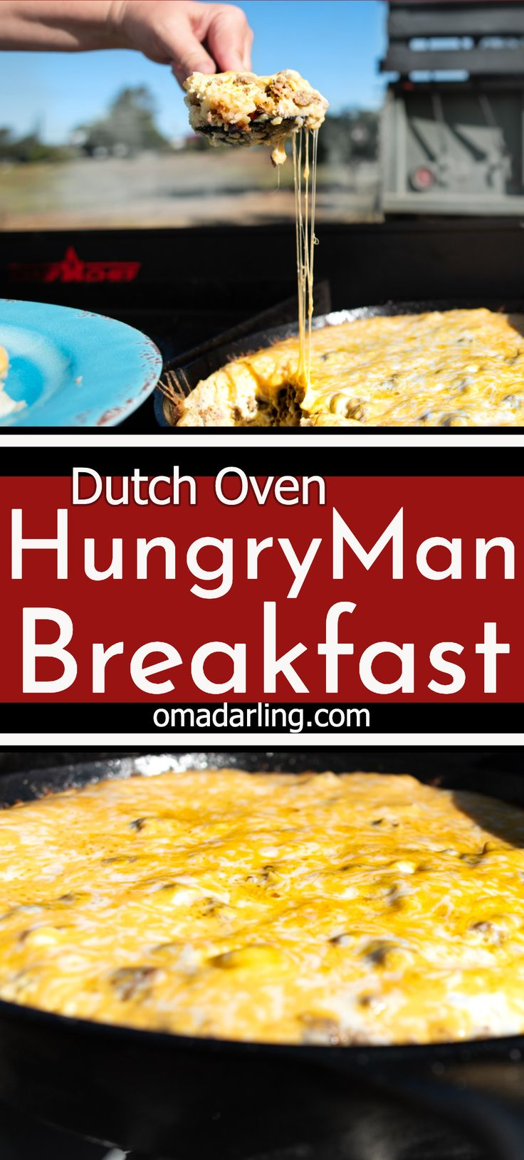 Dutch oven hungry man breakfast is that perfect camp