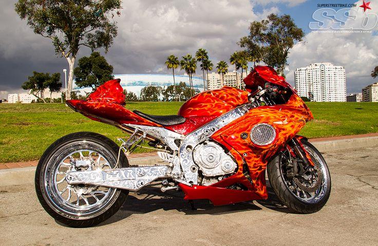 """King Ghost Rider"" 2007 GSXR 750"