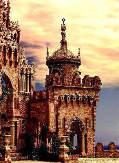 Castillo de Colomares Benalmadena, Málaga, Andalusia, Spain