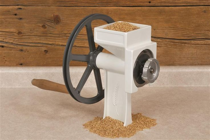 Silly to stock up on wheat without a grain mill...