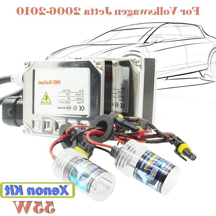 29.44$  Watch now - https://alitems.com/g/1e8d114494b01f4c715516525dc3e8/?i=5&ulp=https%3A%2F%2Fwww.aliexpress.com%2Fitem%2F55W-Xenon-HID-Kit-Light-Ballast-3000K-15000K-DC-For-VW-Jetta-2006-2010-Car-Headlight%2F32659294139.html - 55W Xenon HID Kit Light Ballast 3000K-15000K DC For VW Jetta 2006-2010 Car Headlight Head Lamp  (1 Pair Ballast + 1 Pair Bulb)
