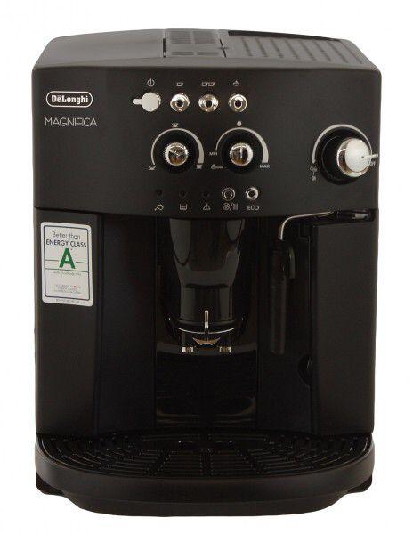 """DeLonghi ESAM 4000 Magnifica Kaffee Vollautomat schwarz Kompakte und Leistungsstarke Brühgruppe: Das ZollHerz"""" der Maschine. Hier wird das Wasser und der frisch gemahlene Kaffee aufgebrüht.Für eine einfache und komfortable Reinigung ist die Brühgruppe herausnehmbar. Konstante Temperatur: Die Temperatur des Thermoblocks wird konstant auf der optimalen Temperatur gehalten. CRF-Technologie für frisch aufgebrühten Kaffee: Durch das 1:1- Aroma System ist der aufgebrühte Kaffee besonders frisch…"""